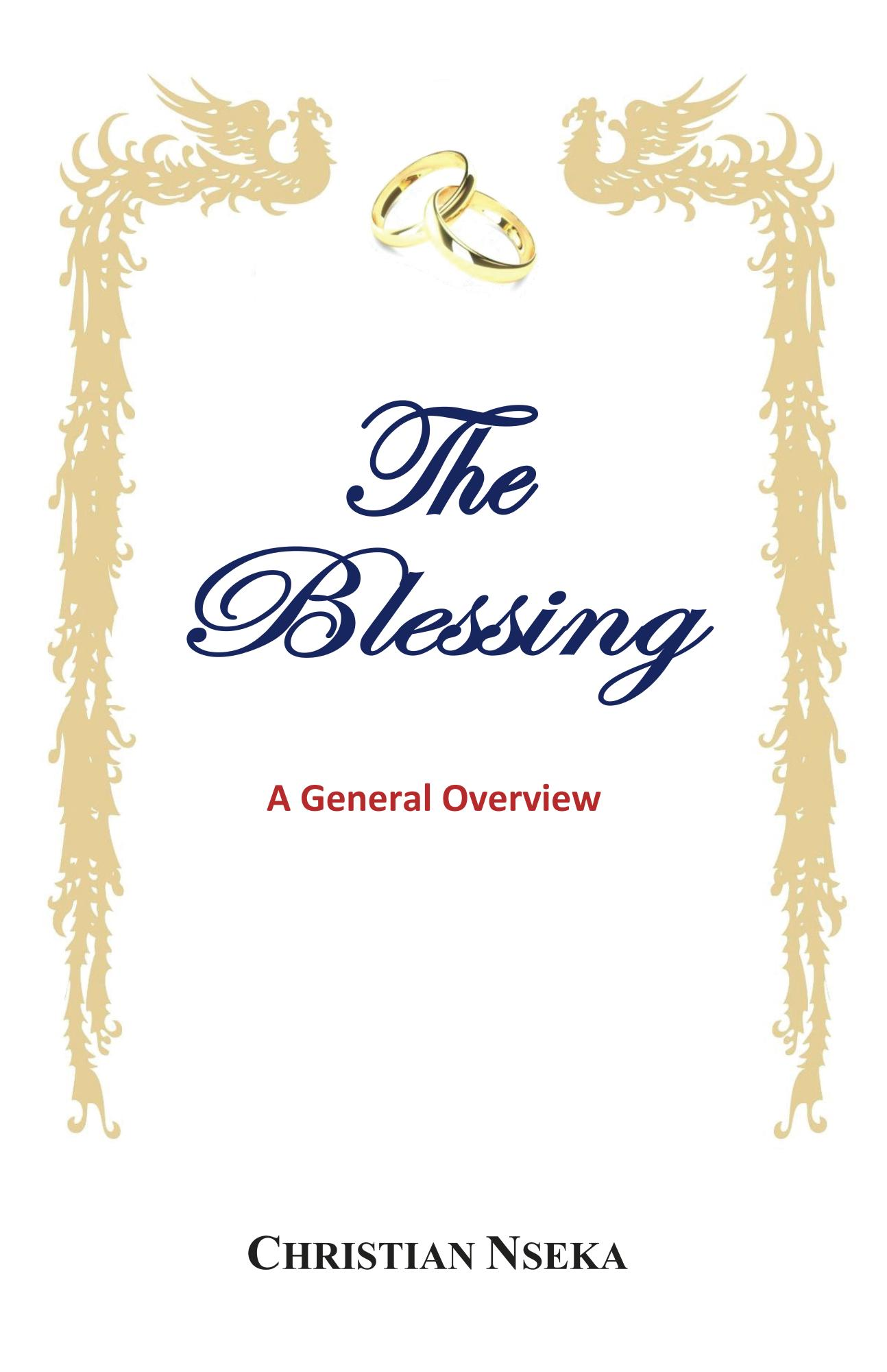 The Blessing book cover